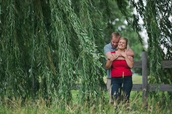 Katie & Tom's Farm Engagement | Norwood Young America, MN