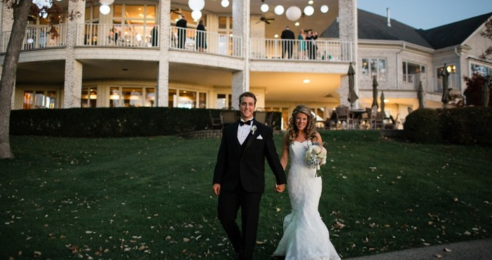 Annie & Greg's Wedding | St. Charles Country Club | Baker Memorial