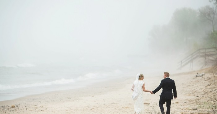 Carrie & John's Wedding | Grand Beach, MI | Lakeside Inn