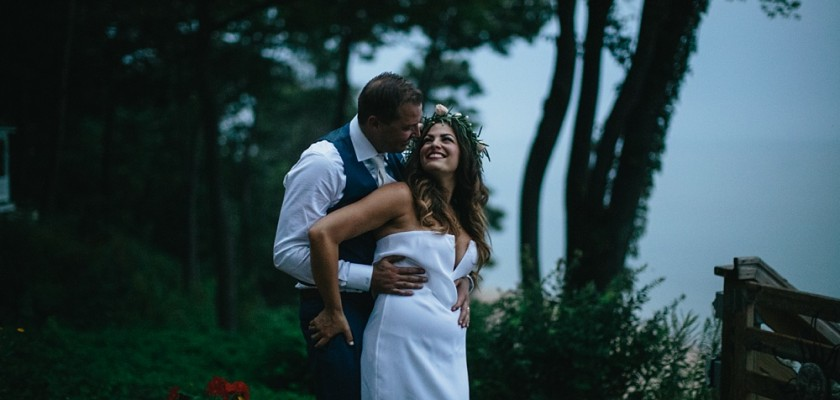 Christine & Matt's Lake House Wedding | South Haven, MI