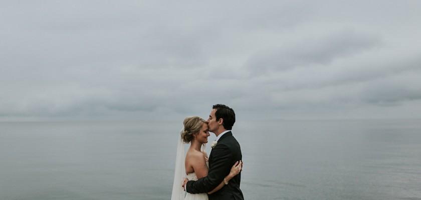 Mikayla & Ryan's Lake House Wedding | Door County, WI
