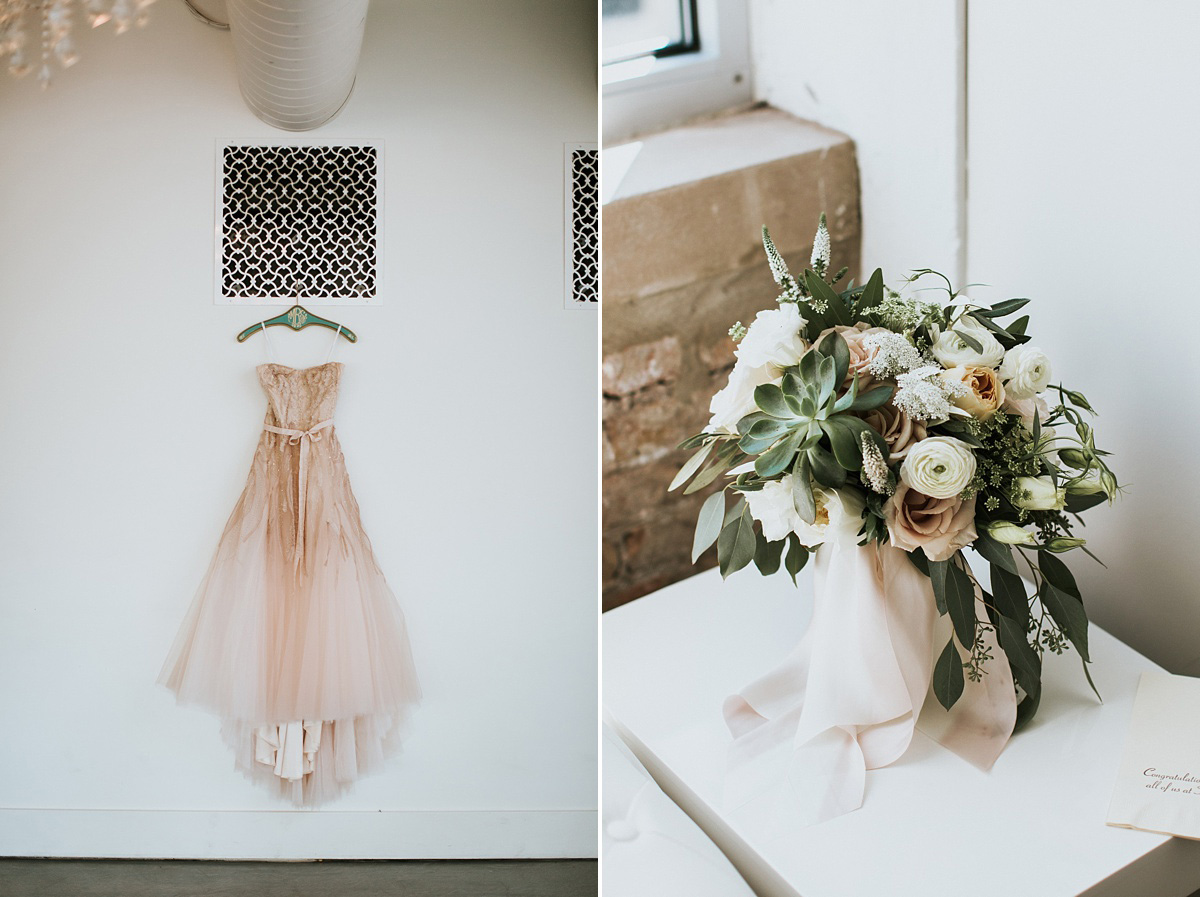 Room 1520 Wedding (Dress & Bouquet)