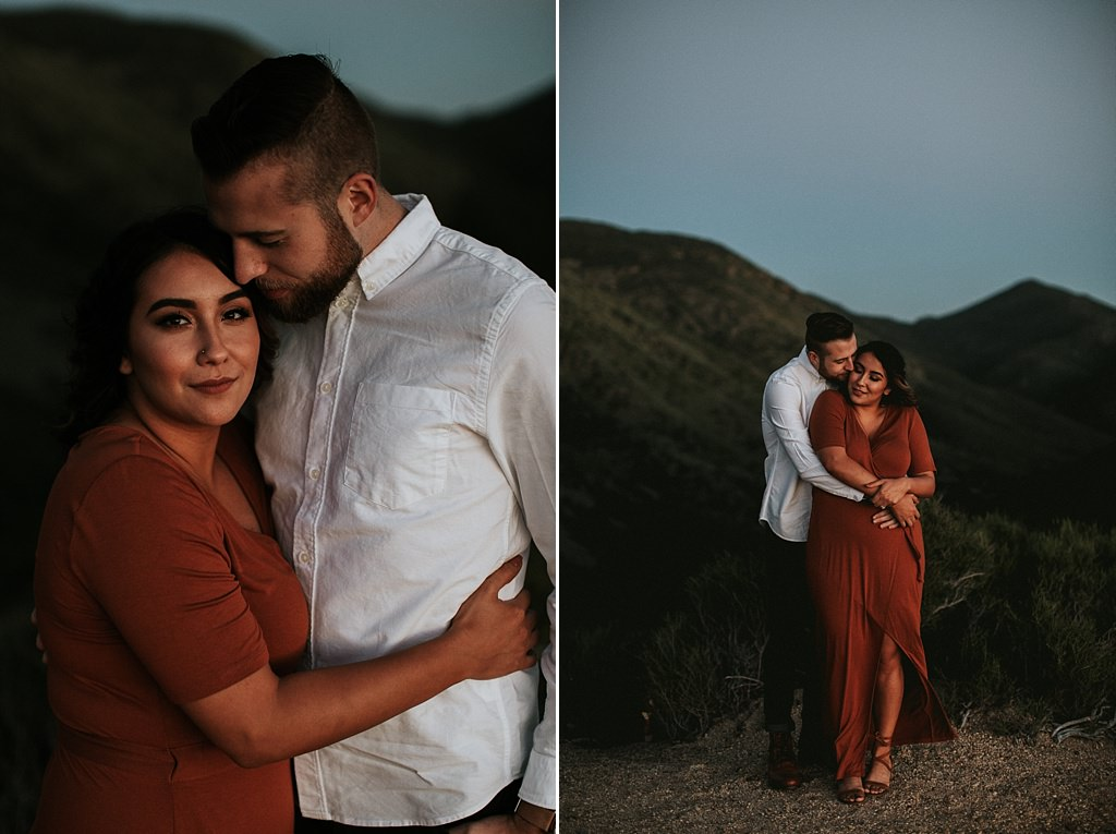 San Diego Engagement Session at Mount Laguna