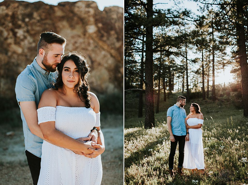 Mount Laguna Engagement Session