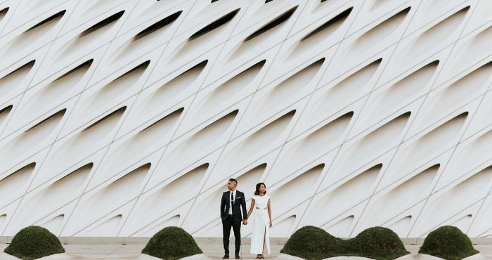 Los Angeles Engagement Session | Claire & Lawrence | LADWP & The Broad