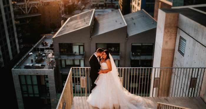 Monique + Corey | Central Library Wedding | San Diego