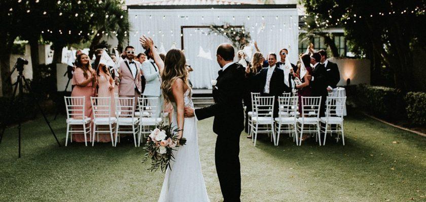 Lauren + Jeremy   Avalon Hotel Palm Springs Wedding